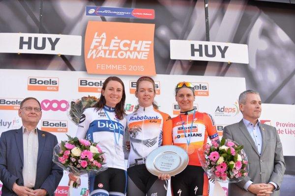 Anna van der Bregen remporte la 18 ème Flèche Wallonne Féminine !...