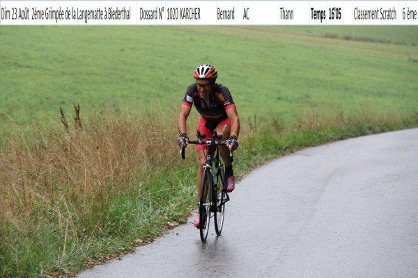 2 ème Grimpée de la Langematte, à Biederthal (FSGT) !...