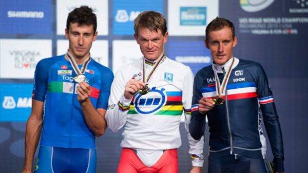 Vasil Kiryienka, Champion du Monde du Contre-la-Montre Individuel !...