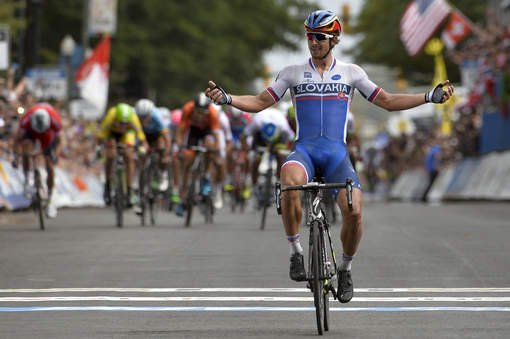 Peter Sagan, Champion du Monde de Cyclisme sur Route !...