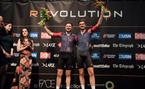 5 ème et avant-dernière manche des « Cycling Revolution Series », à Manchester, en Angleterre (Grande-Bretagne)