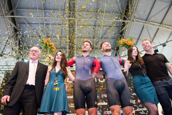 6 ème et dernière manche des « Cycling Revolution Series », à Manchester, en Angleterre (Grande-Bretagne) !...