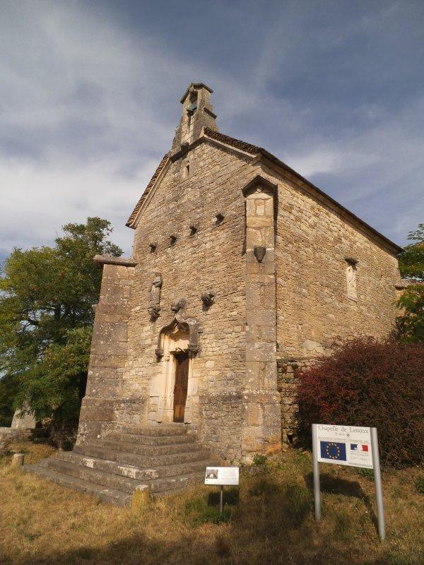 Images de Saône-et-Loire : La chapelle de Lenoux à Laives !...