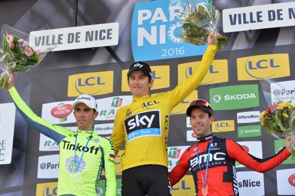 Geraint Thomas remporte le 74 ème Paris - Nice