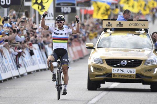 Peter Sagan remporte le 100 ème « Tour des Flandres » !...