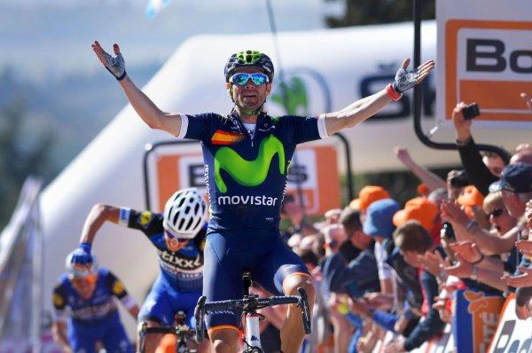 Alejandro Valverde remporte la 80 ème Flèche Wallonne !...