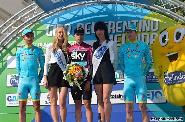 Mikel Landa remporte le 40 ème Tour du Trentin !...