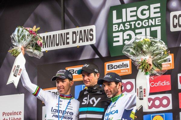 Wout Poels remporte le 102 ème Liège - Bastogne - Liège !...