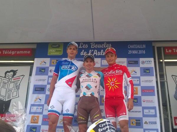Samuel Dumoulin remporte les 17 èmes Boucles de l'Aulne !...
