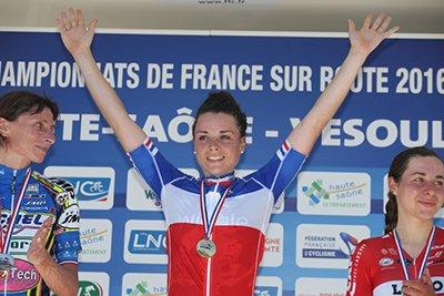 Audrey Cordon-Ragot, Championne de France du Contre-la-Montre Individuel, et, Thibaut Pinot, Champion de France du Contre-la-Montre Individuel !...