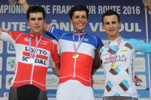 Edwige Pitel, Championne de France sur Route, et, Arthur Vichot, Champion de France sur Route !...
