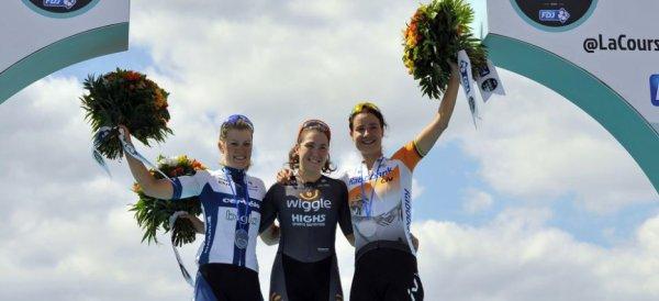 Chloe Hosking remporte la 3 ème « Course by Le Tour de France » !...