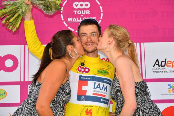 Dries Devenins remporte le 43 ème Tour de Wallonie !...