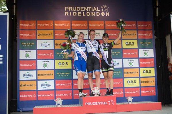Kirsten Wild remporte la 4 ème Prudential RideLondon Grand Prix Women's Classic !...