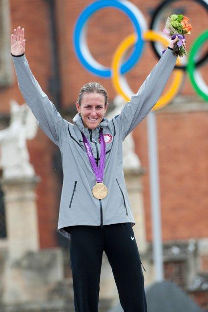 Kristin Armstrong, Championne Olympique du Contre-la-Montre Individuel !...