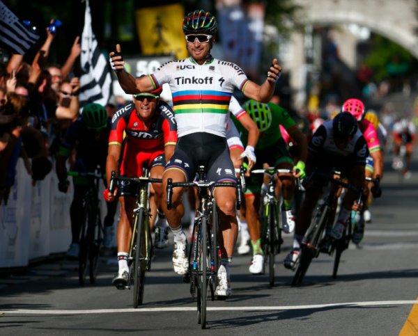 Peter Sagan remporte le 7 ème Grand Prix Cycliste de Québec !...