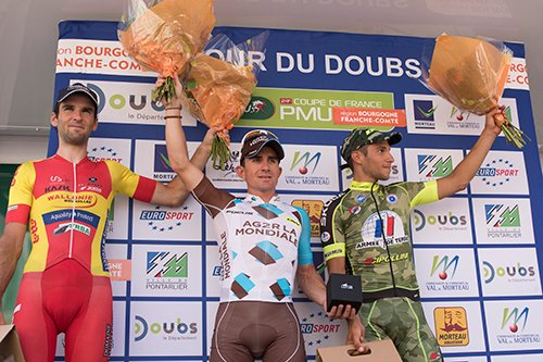 Samuel Dumoulin remporte le 32 ème Tour du Doubs !...