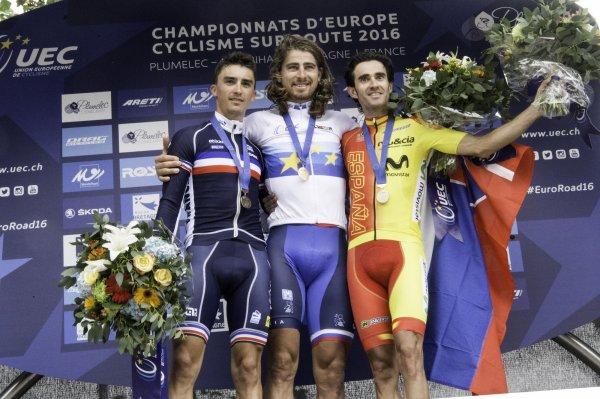 Championnats d'Europe de Cyclisme sur Route, à Plumelec, en France !...
