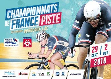 Championnats de France de Cyclisme sur Piste, à Bordeaux !...