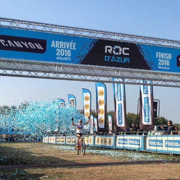 Jordan Sarrou et Annika Langvad remportent le 33 ème Roc d'Azur !...