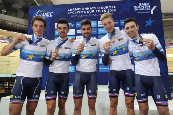 Championnats d'Europe de Cyclisme sur Piste, à Saint-Quentin-en-Yvelines, en France !...