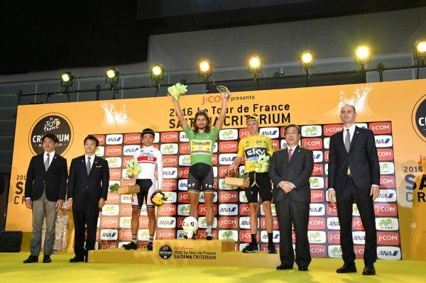 Peter Sagan remporte le 4 ème Critérium de Saitama !...
