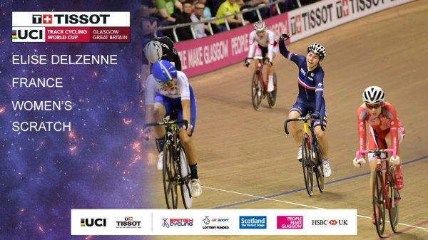1 ère manche de la Coupe du Monde de Cyclisme sur Piste, à Glasgow, en Ecosse, au Royaume-Uni !...