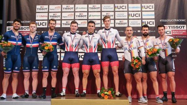 2 ème manche de la Coupe du Monde de Cyclisme sur Piste, à Apeldoorn, aux Pays-Bas !...