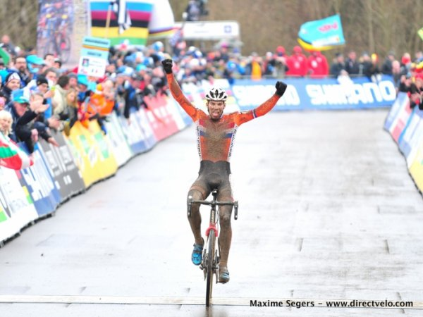 Championnats du Monde de Cyclo-Cross, à Belvaux, au Luxembourg !...