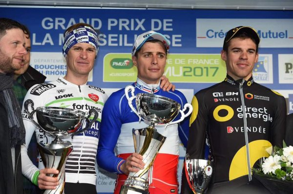 Arthur Vichot remporte le 38 ème Grand Prix d'Ouverture « La Marseillaise » !...