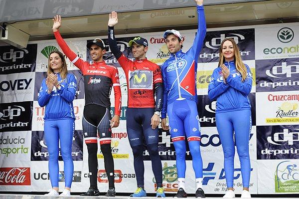 Alejandro Valverde remporte le 63 ème Tour d'Andalousie !...
