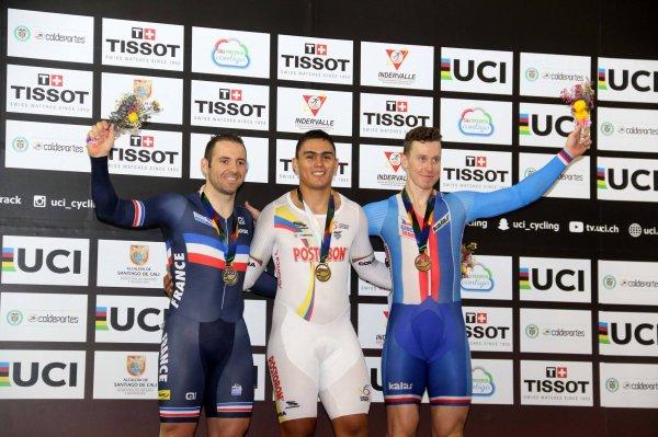 3 ème et avant-dernière manche de la Coupe du Monde de Cyclisme sur Piste, à Cali, en Colombie !...