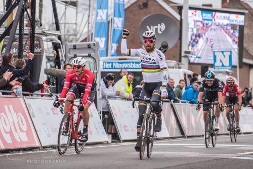 Peter Sagan remporte le 69 ème « Kuurne - Bruxelles - Kuurne » !...
