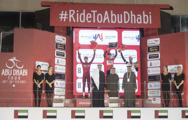 Rui Costa remporte le 3 ème Abu Dhabi Tour !...