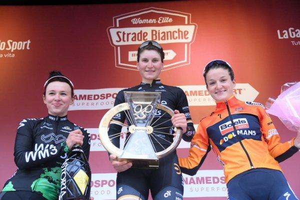 Michał Kwiatkowski et Elisa Longo Borghini remportent les « Strade Bianche » !...