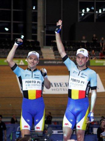 Kenny De Ketele et Moreno De Pauw remportent la grande finale des « Six Days Series » à Palma de Majorque, en Espagne !...