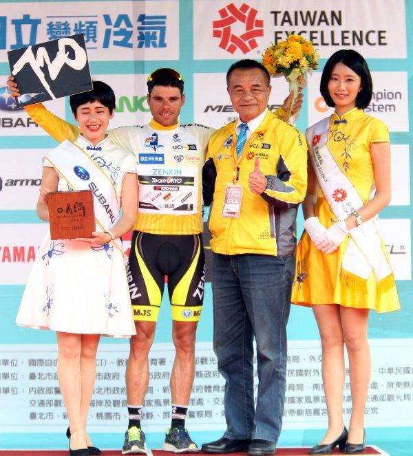 Benjamín Pradev remporte le 15 ème « Tour de Taïwan » !...