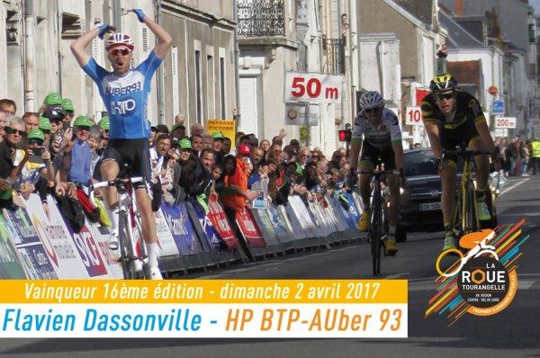 Flavien Dassonville remporte la 16 ème « Roue Tourangelle » !...