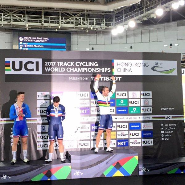 Championnats du Monde de Cyclisme sur Piste, à Hong Kong, en Chine !...