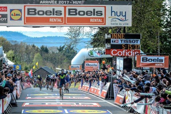 Alejandro Valverde remporte la 81 ème Flèche Wallonne !...