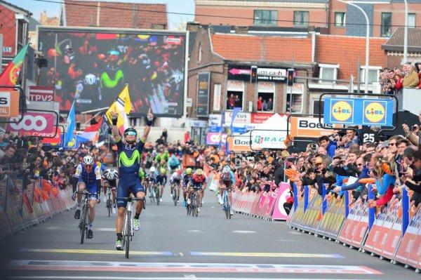 Alejandro Valverde remporte le 103 ème Liège - Bastogne - Liège !...