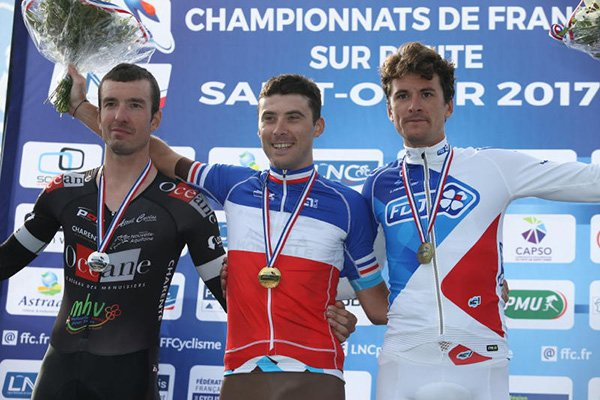 Audrey Cordon-Ragot, Championne de France du Contre-la-Montre Individuel, et, Pierre Latour, Champion de France du Contre-la-Montre Individuel !...