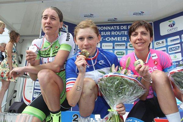 Charlotte Bravard, Championne de France, et, Arnaud Démare, Champion de France !...