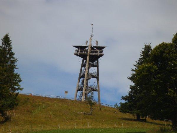 Images d'Allemagne : La Tour du Schauinsland !...