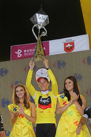 Dylan Teuns remporte le 74 ème Tour de Pologne !...