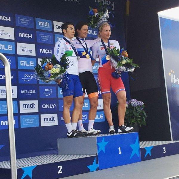 Championnats d'Europe de Cyclisme sur Route, à Herning, au Danemark !...