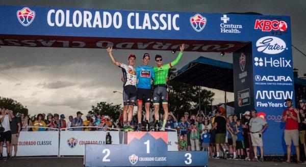 Manuel Senni remporte le 6 ème Tour du Colorado, nouvellement appelé « Colorado Classic » !...