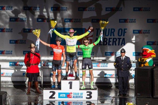 Evan Huffman remporte le 5 ème Tour d'Alberta !...