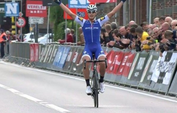 Matteo Trentin remporte le 7 ème Grand Prix Impanis - Van Petegem !...