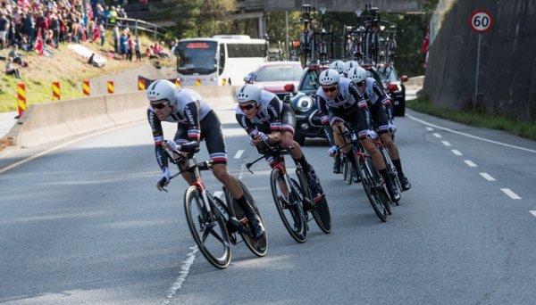 Championnat du Monde de Cyclisme Contre-la-Montre par Equipes, à Bergen, en Norvège !...